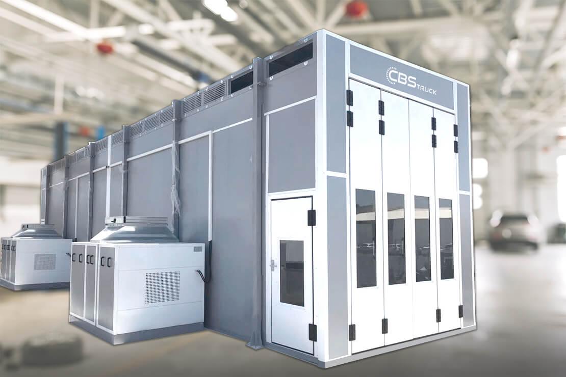 fabricante de modelos de cabinas de pintura industriales
